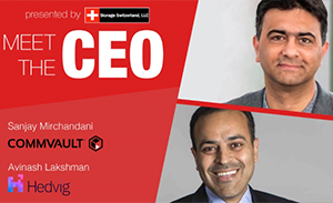 Meet the CEOs with George Crump. 11:30 a.m. EDT, Sept. 5