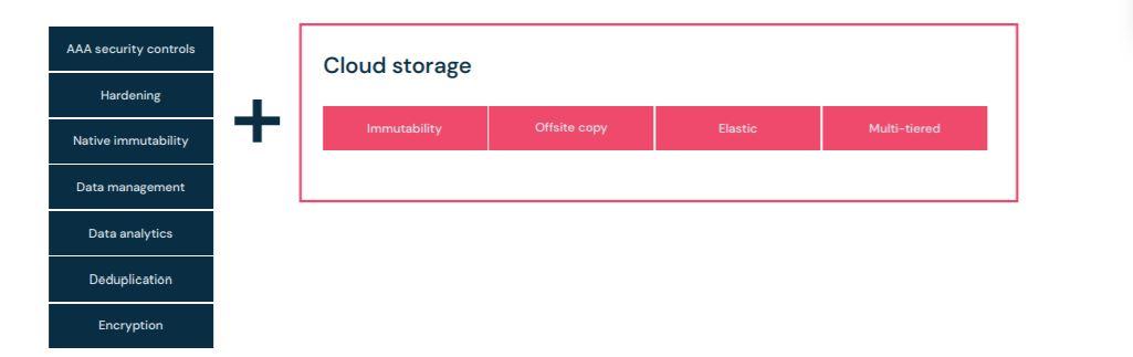 Utilizing cloud storage