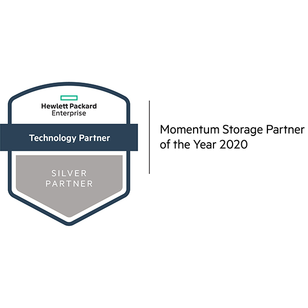 Hewlett Packard Enterprise (HPE) Momentum Storage Partner of the Year 2020